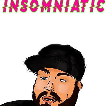 Insomniatic Face Official Design by mbsauthentic