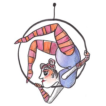 Circus Woman by inspiredthings