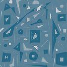 Retro Blue by ElaineLauzon