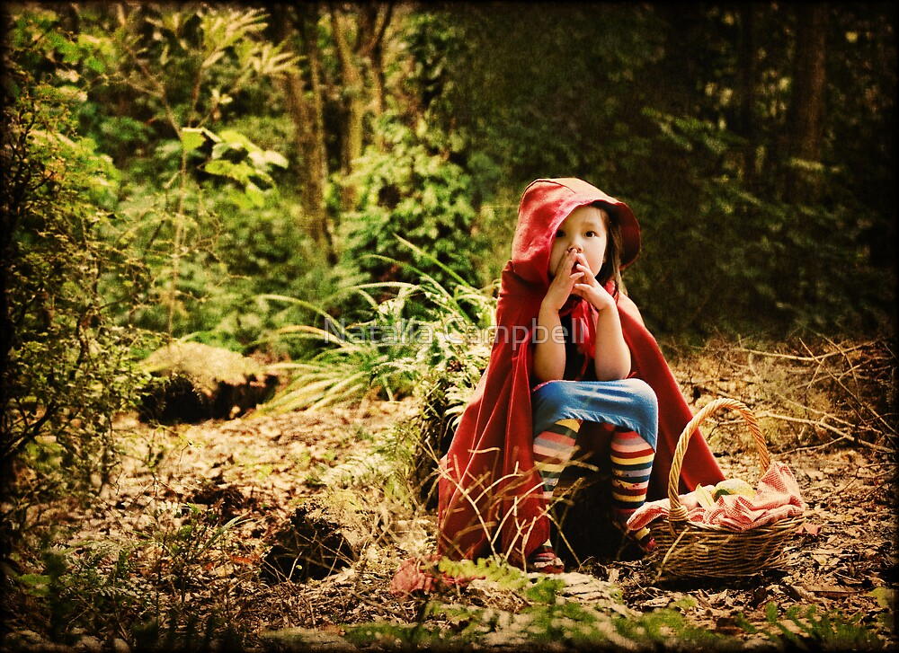 lost lil red... by Natalia Campbell