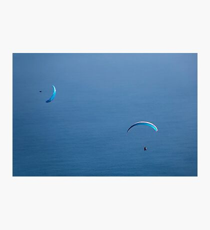 Gliding in My World of Blue Photographic Print