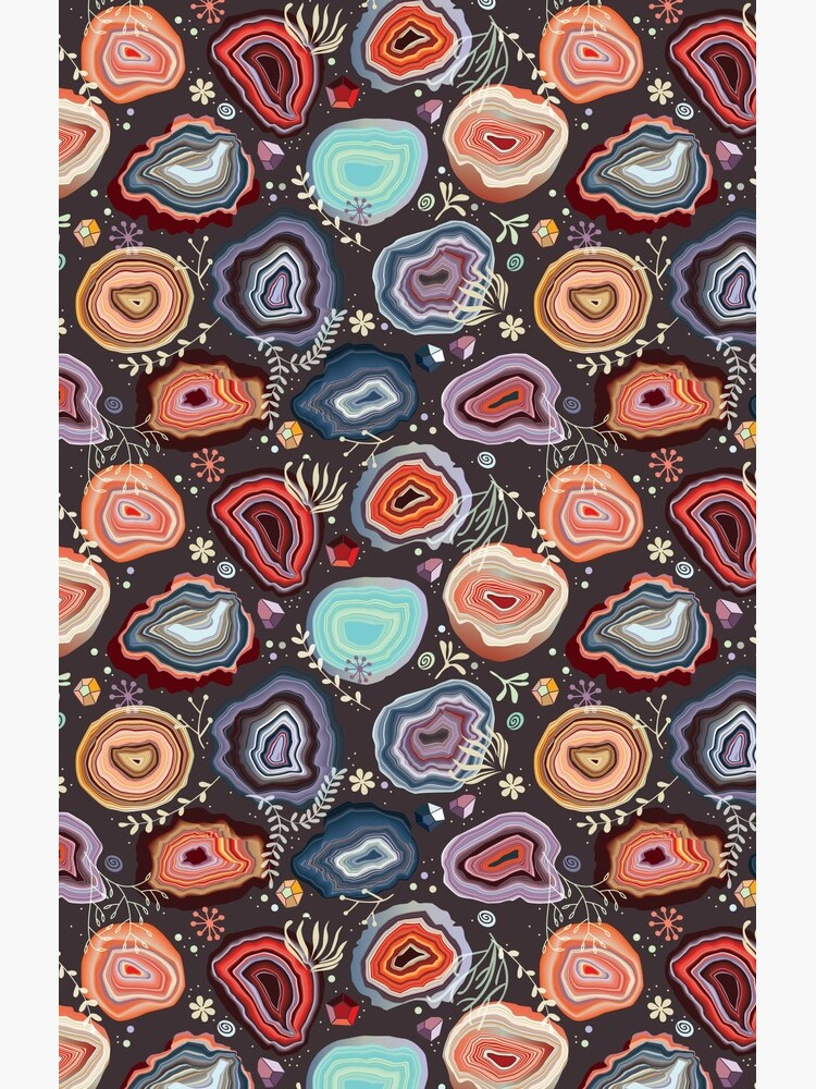 Colorful agates by camcreativedk