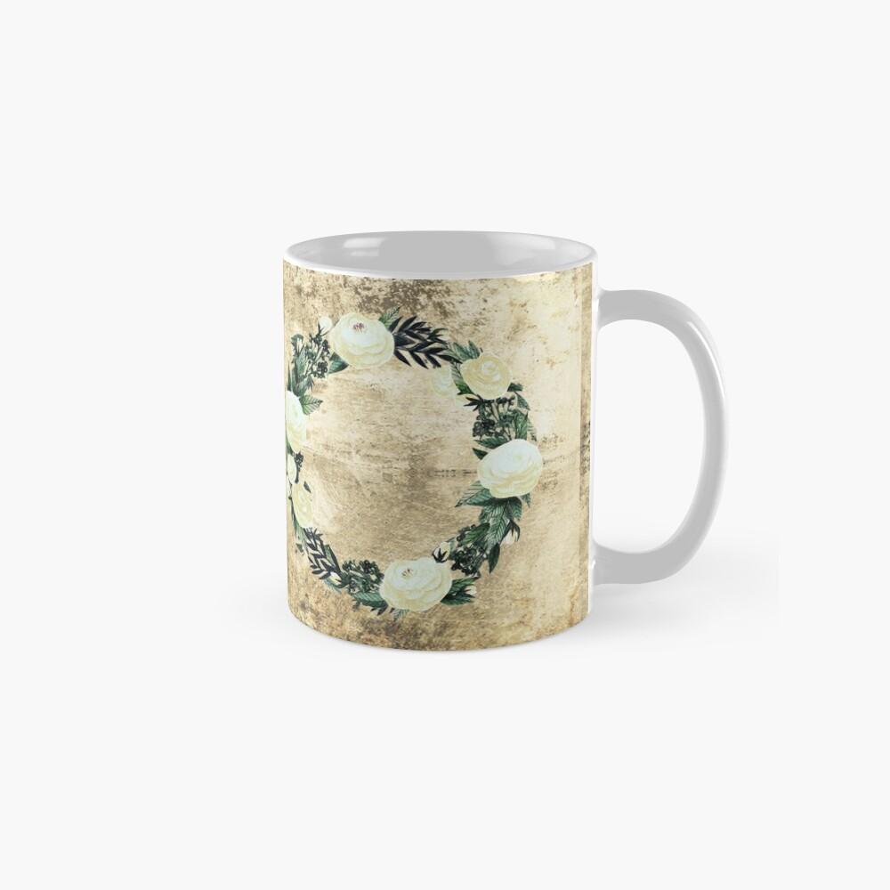Wreath #White Flowers #Royal collection Mug