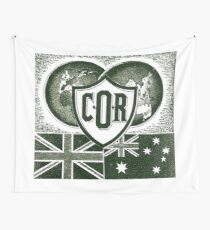 1940s Aussie Fuel COR BP  Wall Tapestry