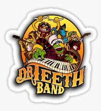 Dr Teeth and the Electric Mayhem  - The Muppets TV  Sticker