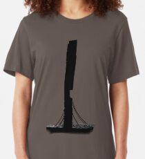 Camiseta ajustada Vista panorámica