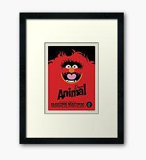 The Muppets - Animal Framed Print
