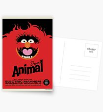 The Muppets - Animal Postcards