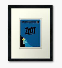 The Muppets - Zoot Framed Print