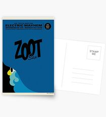 The Muppets - Zoot Postcards