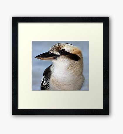 Is this my best side??????? Framed Print