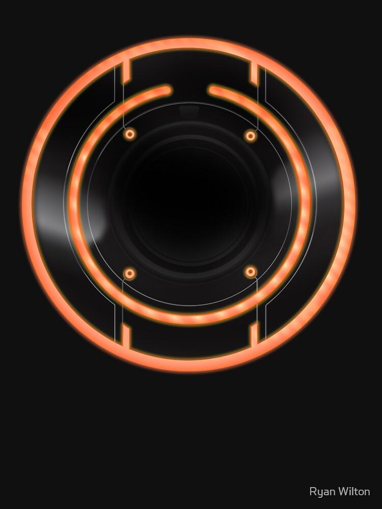 Tron Legacy - Rinzler ID Disc by channandeller