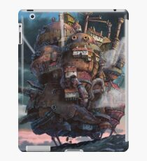 Vinilo o funda para iPad Howl's Moving Castle Landscape (Studio Ghibli anime)