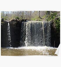 The Beautiful Little Dam falls Poster