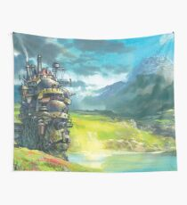 Howl's Moving Castle (Studio Ghibli anime) Wall Tapestry