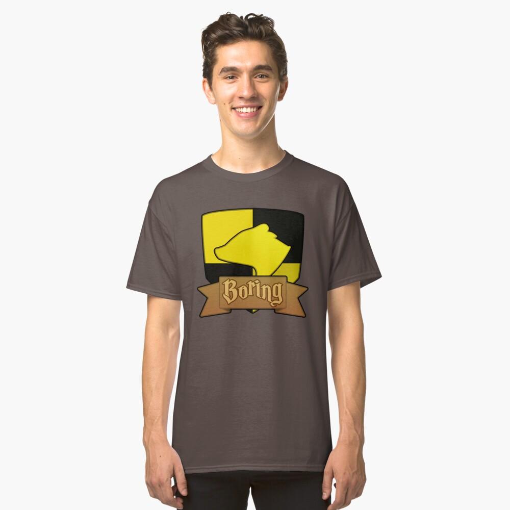 House Symbols - Boring Classic T-Shirt Front