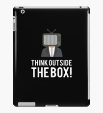 Think Outside The Box gift tee iPad Case/Skin