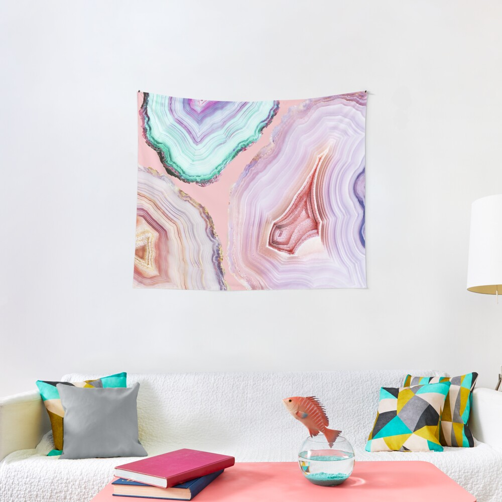 Mineral Agates #Glam collection Tapestry