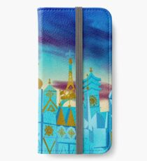 It's A Small World iPhone Wallet/Case/Skin