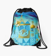 It's A Small World Drawstring Bag