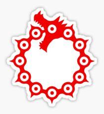 Meliodas Dragon sign Sticker