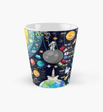Space Universe Infographics Big Bang Tall Mug