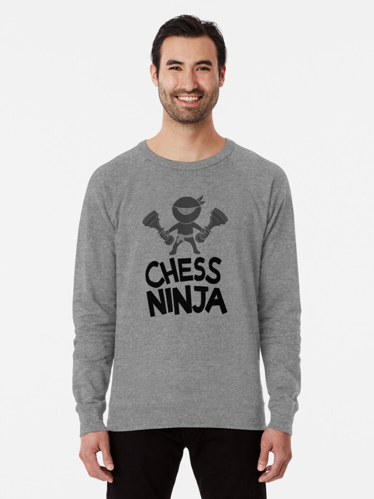 1107d51937 Comic Graphic Chess Ninja T-Shirt - Cool Chess Chess Player Chess Club Fan  Comic