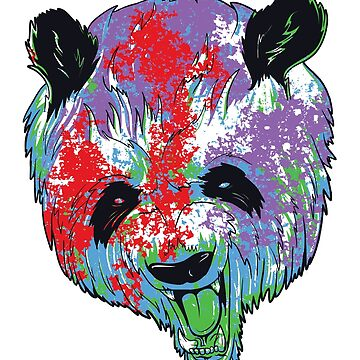 Angry Panda  by hip-hop-art