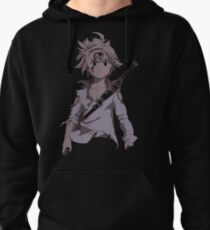 Angry Meliodas Pullover Hoodie