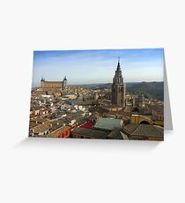 The Roofs of Toledo Greeting Card
