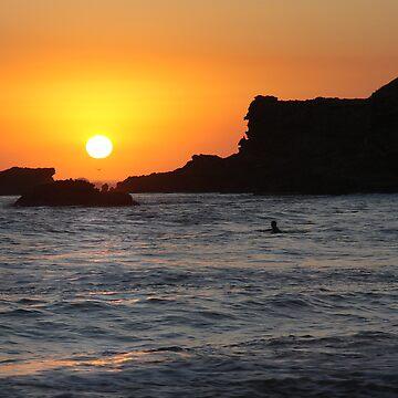 Twilight Surfer - Sorrento by PixelMuser