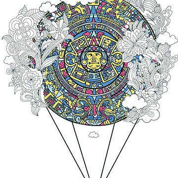 Mayan Calendar in Cloud's  by hip-hop-art