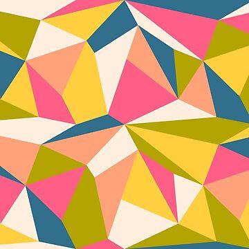 Vintage geometric pattern by SIR13