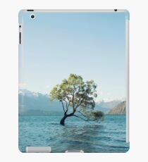 That tree in the middle of the lake iPad Case/Skin