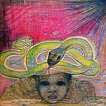 Snake Child by MardiGCalero