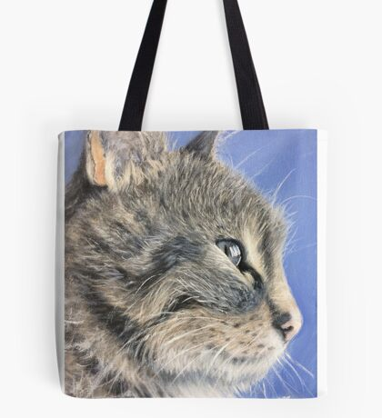 Contemplating evil Tote Bag