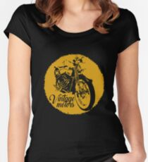 Vintage Motors Women's Fitted Scoop T-Shirt