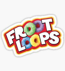 Froot Loops Cereal Sticker