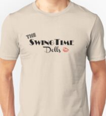 Official SwingTime Dolls Logo Slim Fit T-Shirt