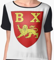 Bayeux Coat of Arms, France Chiffon Top