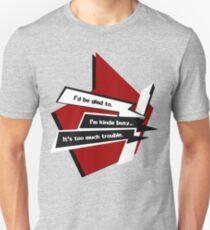 Persona 5 Conversation Options Unisex T-Shirt