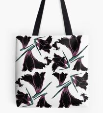 Pattern brush flower Tote Bag