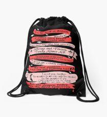 Best Quotes Drawstring Bag