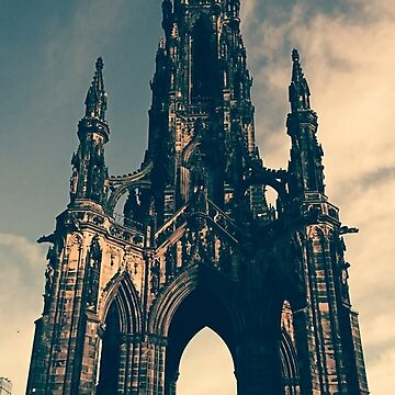 Scott Monument, Edinburgh by LiseBriggs