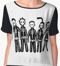 Misfits Lightning Chiffon Top