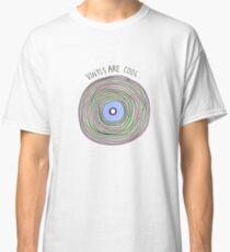 Vinyls are Cool (Pastel) Classic T-Shirt