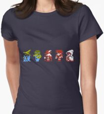 Final Fantasy - Team up Women's Fitted T-Shirt