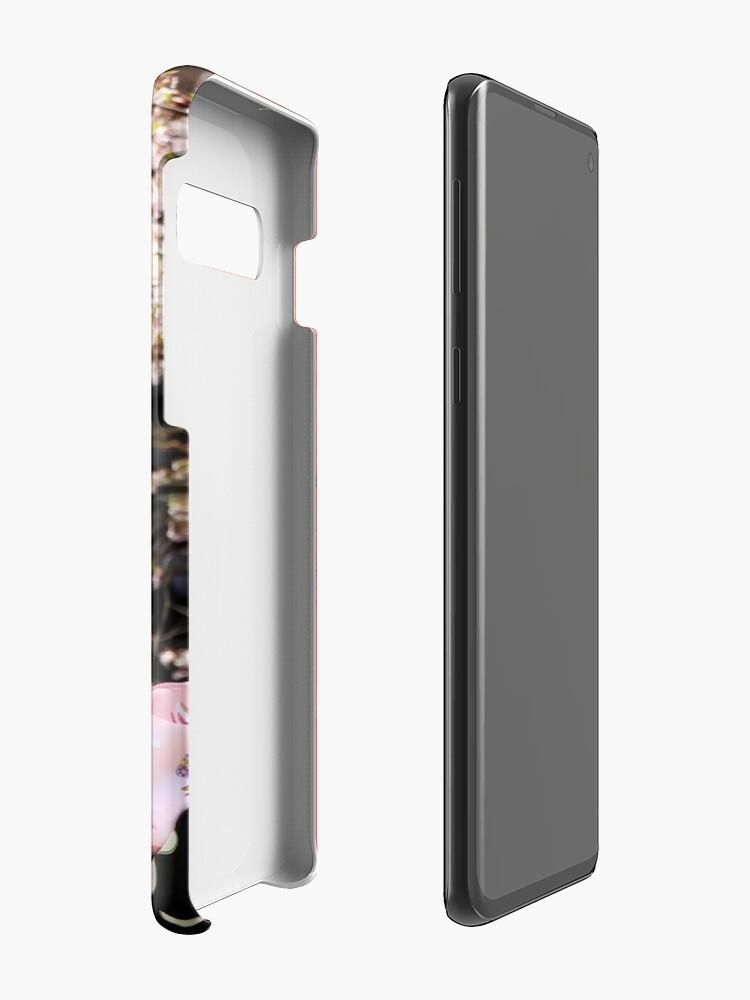 Alternate view of Red umbrella Case & Skin for Samsung Galaxy