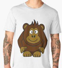 Happy monkey - Vector Men's Premium T-Shirt
