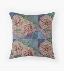 Giant Chrysanthemums Floor Pillow